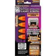 Halloween Classic Bulb String Lights - 2 Pack-Daily Steals