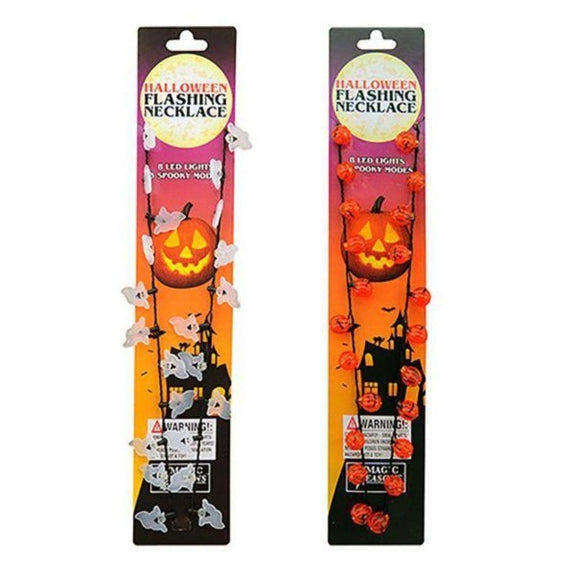 Halloween LED Flashing Necklace - 2 Pack-Daily Steals
