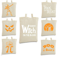 Halloween Themed Tote Bags-Daily Steals