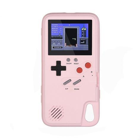 Retro Gameboy iPhone Case with 36 Games-Pink-iPhone X, XS-Daily Steals