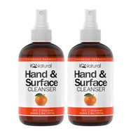 Hand and Surface Cleaner Spray - Citrus Scent - 8oz Bottle-2 Pack-