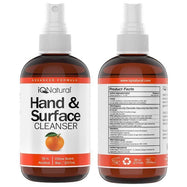 Hand and Surface Cleaner Spray - Citrus Scent - 8oz Bottle-1 Pack-