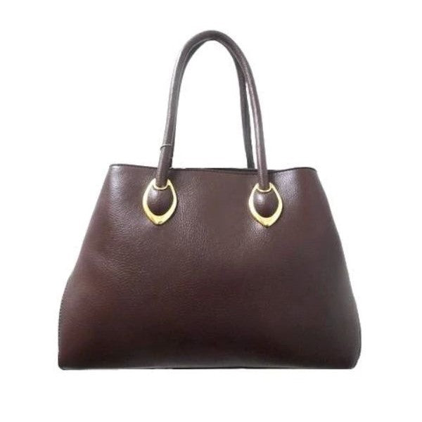 Solid Tote Vintage Style Leather Handbag-Coffee-Daily Steals