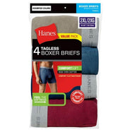 Hanes Tagless Underwear/ Boxer Briefs - Assorted Colors - 8 Pack-2XL-Daily Steals