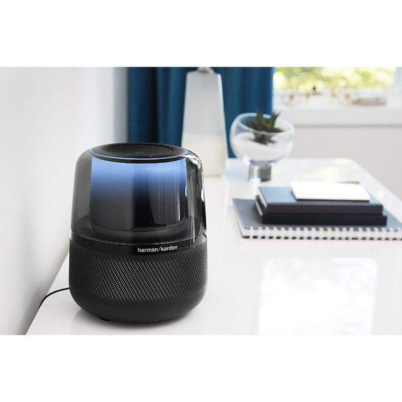Harman Kardon Allure Haut-parleur domotique à activation vocale avec Alexa, Black Daily Daily