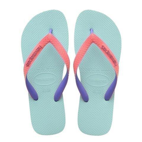 Daily Steals-Havaianas Boy's H. Top Mix Ankle-High Rubber Sandals-Accessories-Blue-2 Boys-