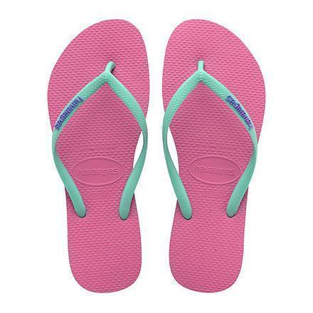 Daily Steals-Havaianas Women's H. Sl Logo Pop-Up Rubber Sandals-Accessories-Pink-12 Womens-