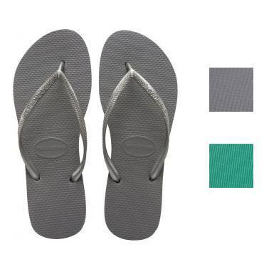Daily Steals-Havaianas Women's Slim Rubber Sandals-Accessories-Green-7 Womens-