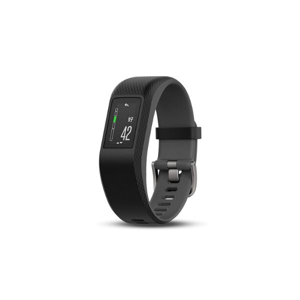 Garmin Vívosport Activity Fitness Tracker with Heart Rate & GPS-Slate-S/M-Daily Steals