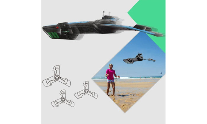 Daily Steals-Helicopter Drone 2.4G R/C Triangle Aircraft-Hobby and Toys-