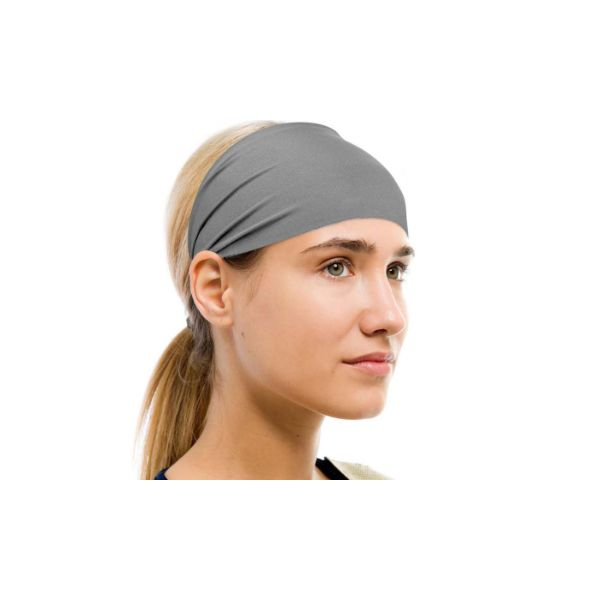 Unisex Moisture-Wicking Sweat Band - 2 Pack-Gray-Daily Steals