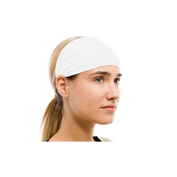 Unisex Moisture-Wicking Sweat Band - 2 Pack-White-Daily Steals