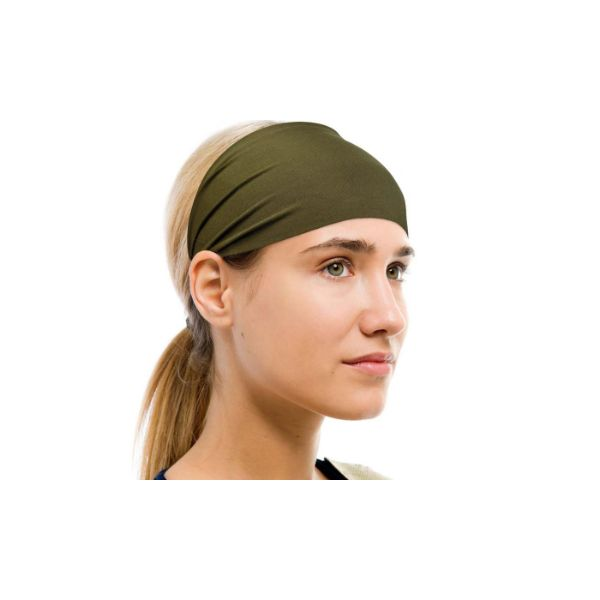 Unisex Moisture-Wicking Sweat Band - 2 Pack-Olive Green-Daily Steals