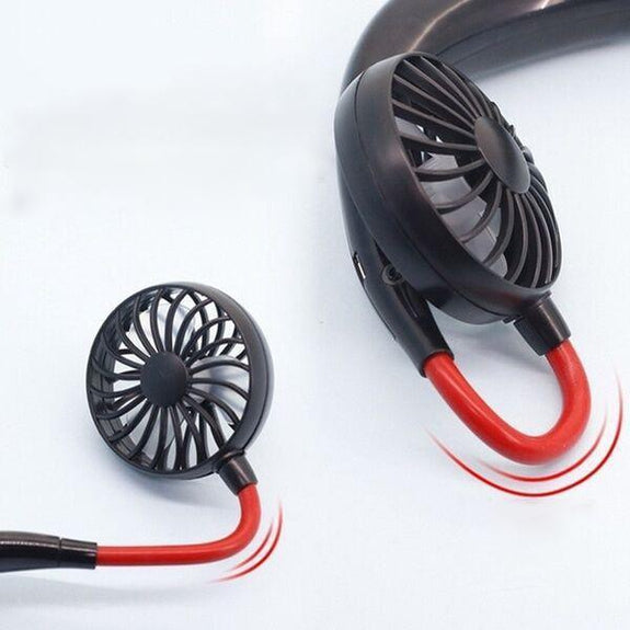 Personal Rechargeable Neckband Cooler/Fan-Daily Steals