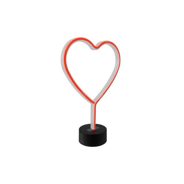 Lumi Home Decor Neon Light-Heart-Daily Steals