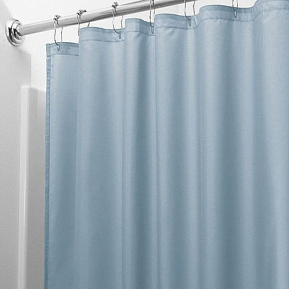 Heavy-Duty Magnetic Shower Curtain Liner - 2 Pack-Blue-Daily Steals