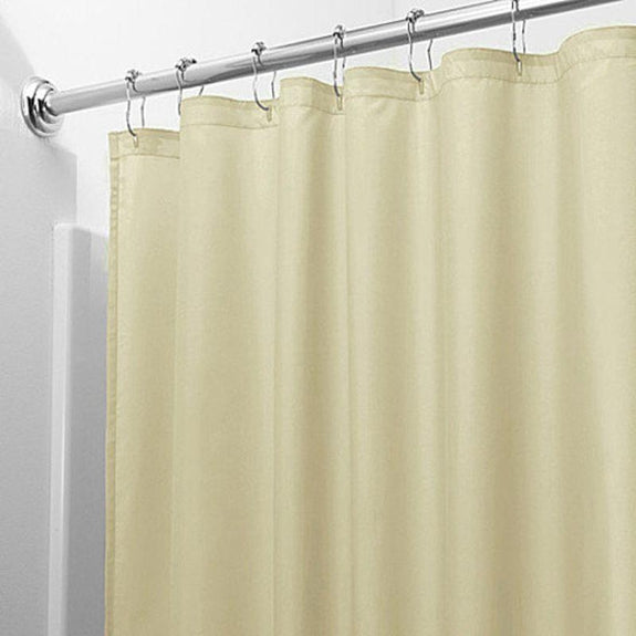 Heavy-Duty Magnetic Shower Curtain Liner - 2 Pack-Tan-Daily Steals