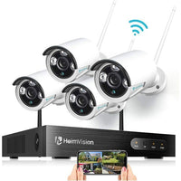 HeimVision 1080P Wireless Security Camera System - 8 Channel-