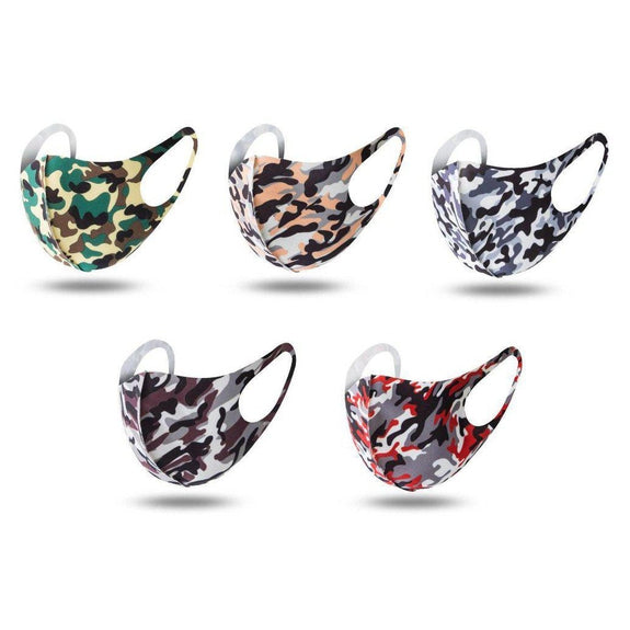 Fun Fabric Prints Non-Medical Reusable Face Masks - 6 Pack-Daily Steals