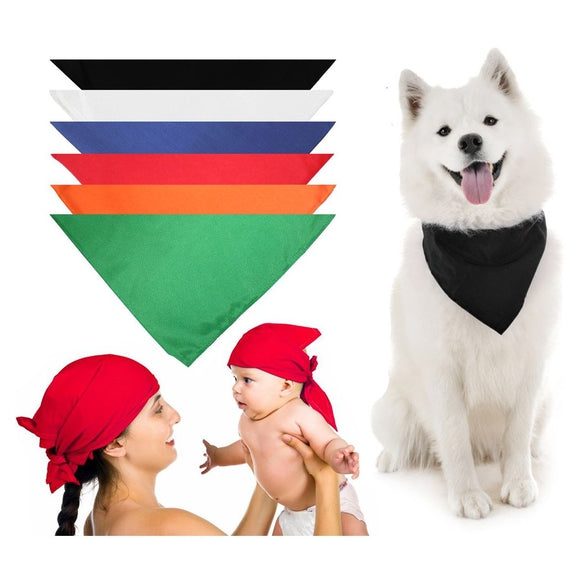 Dog Scarf Bandanas Triangle Bibs - 6 Pack-Daily Steals