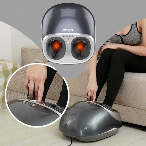 Shiatsu Deep Kneading Foot Massager with Infrared Heat-Daily Steals