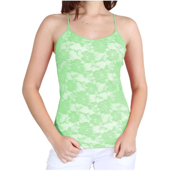Women's Adjustable Camisole - One Size Fits Most-Bamboo Green-Daily Steals