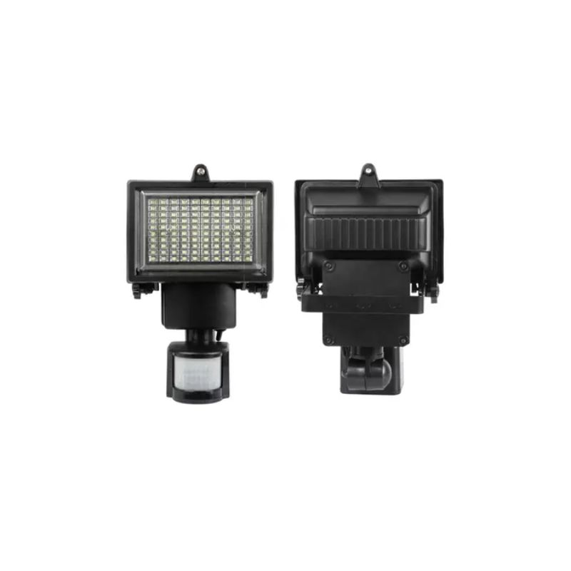 100-LED Floodlight - Passive Infrared Sensor Activated, Solar Powered-Daily Steals