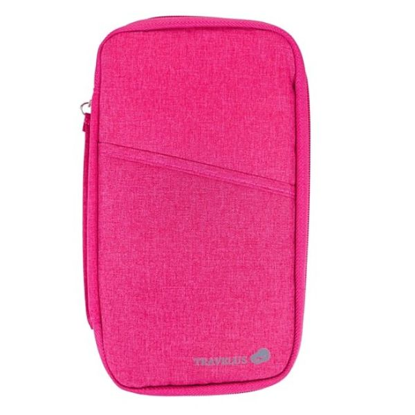 Passport Wallet Unisex Travel Organizer-Pink-Daily Steals