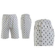Men's Printed French Terry Shorts - Sizes S-2X-Heather Grey Penguins-M-Daily Steals