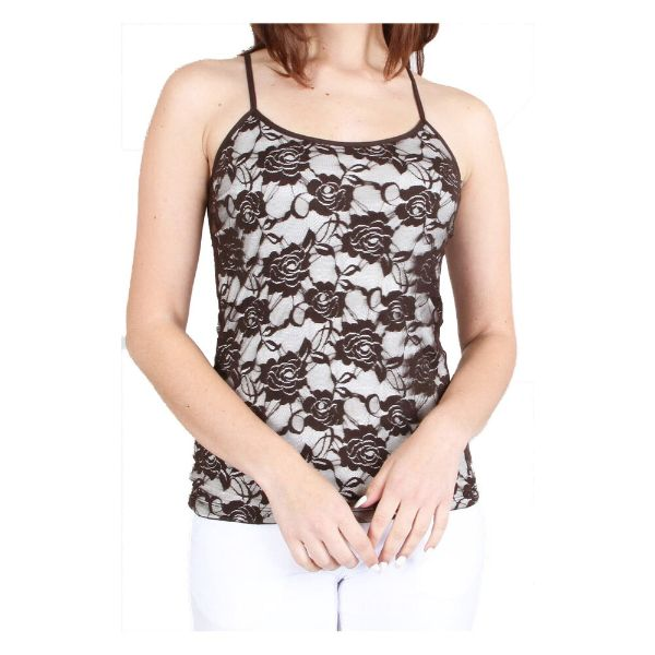 Women's Adjustable Camisole - One Size Fits Most-Brown-Daily Steals
