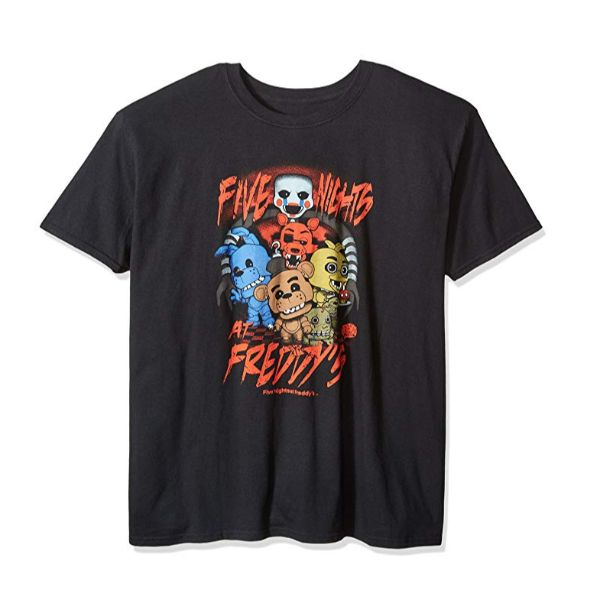 Funko Pop Tees - Various Styles-Men's FNAF - Black-M-Daily Steals