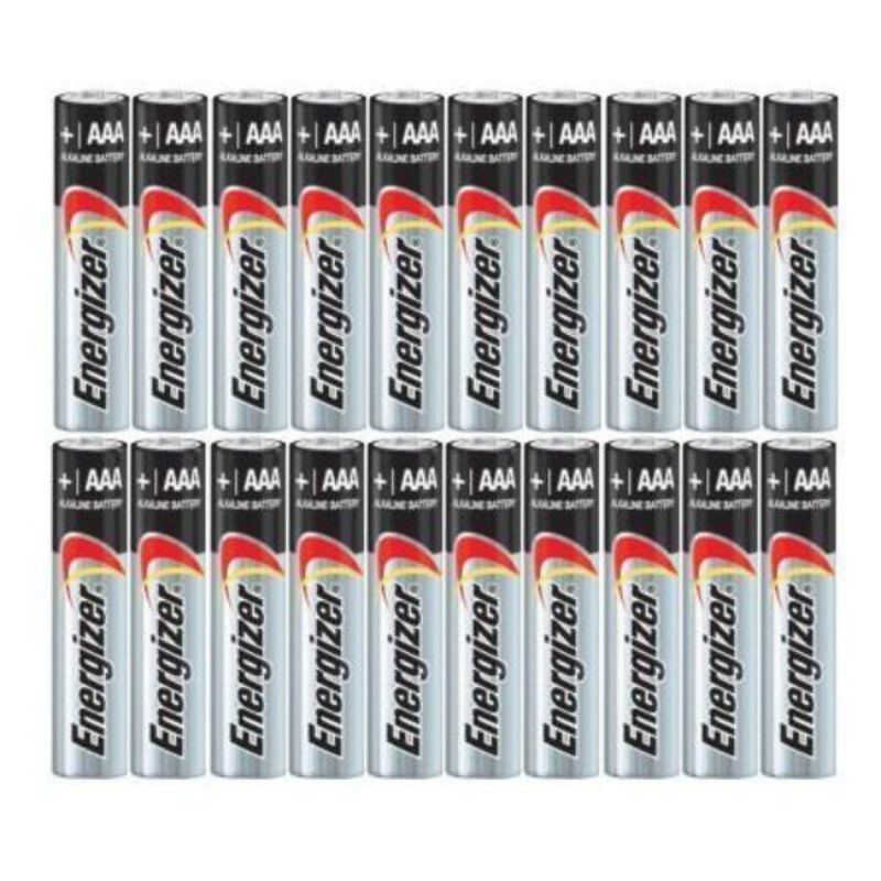 Energizer AA eller AAA Max Alkaline Batteries - 20 Pack-AAA-Daily Steals
