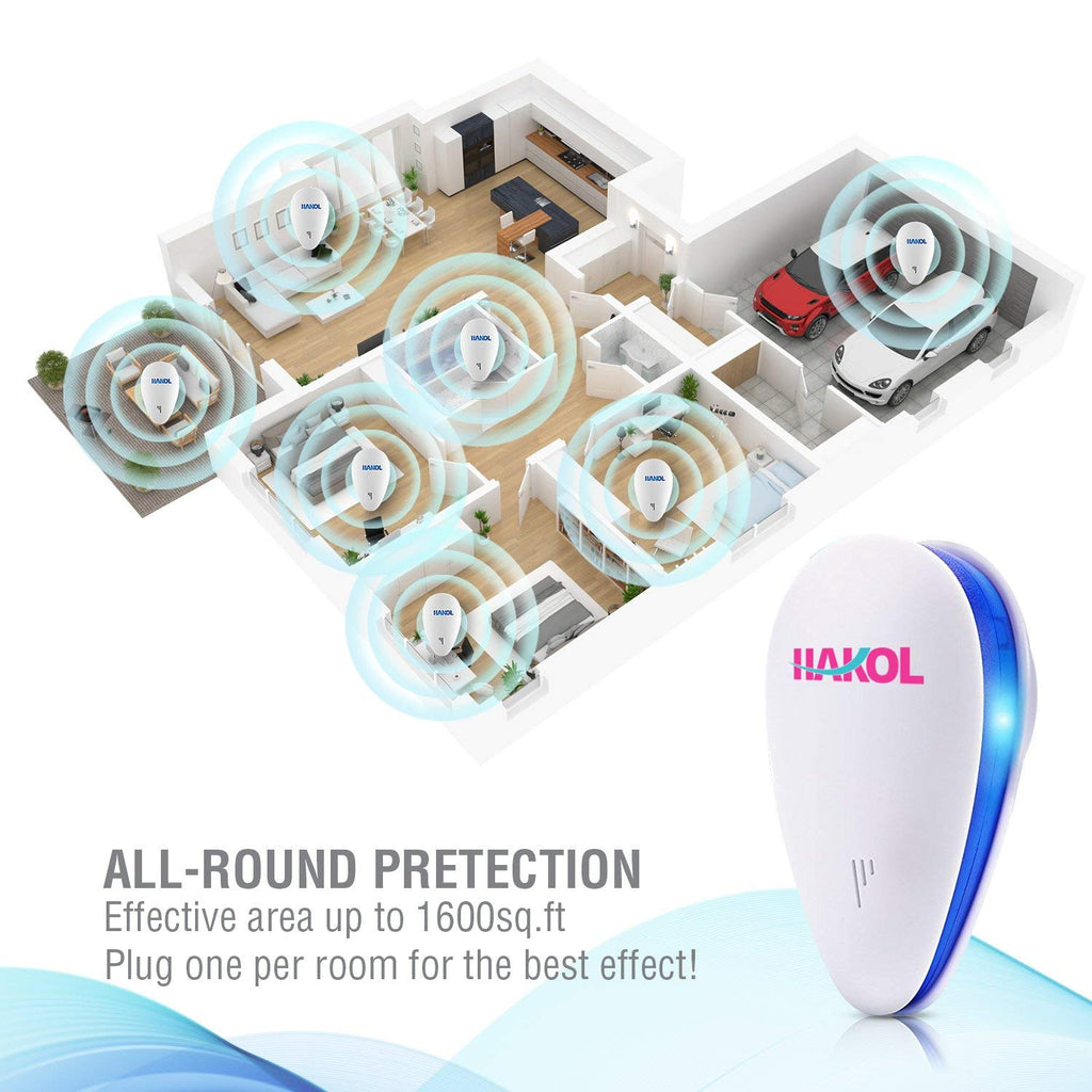 [4-Pack] Premium Ultrasonic Pest Repeller Set-Daily Steals