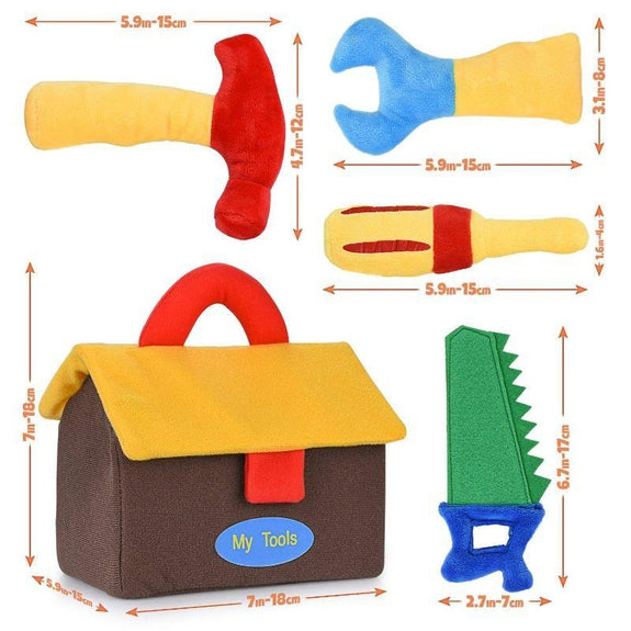 Plush Tool Toys Set-Daily Steals