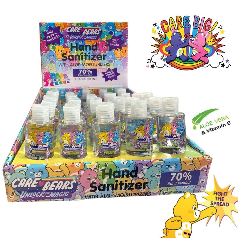 Care Bears Hand Sanitizers 2 Fl Oz - 6 or 40 Pack