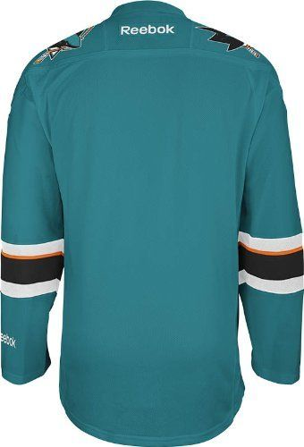 Daily Steals-NHL San Jose Sharks Men's Center Ice Team Colors Premier Hockey Jersey-Men's Apparel-