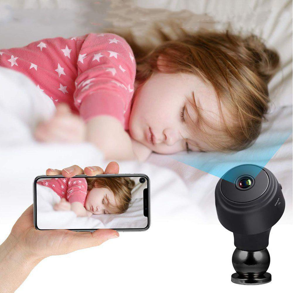 AMZ Security Mini 1080P Spy Camera with Motion Detection-Daily Steals