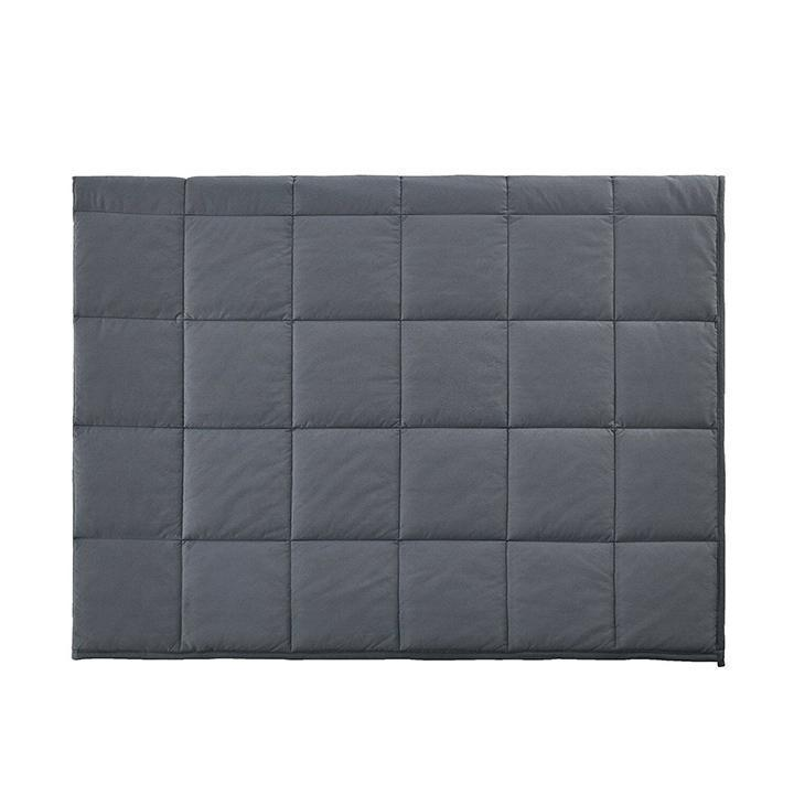 Daily Steals-Hotel Elements Calming Weighted Blanket - 15lbs or 20lbs-Home and Office Essentials-Dark Gray-15LB-