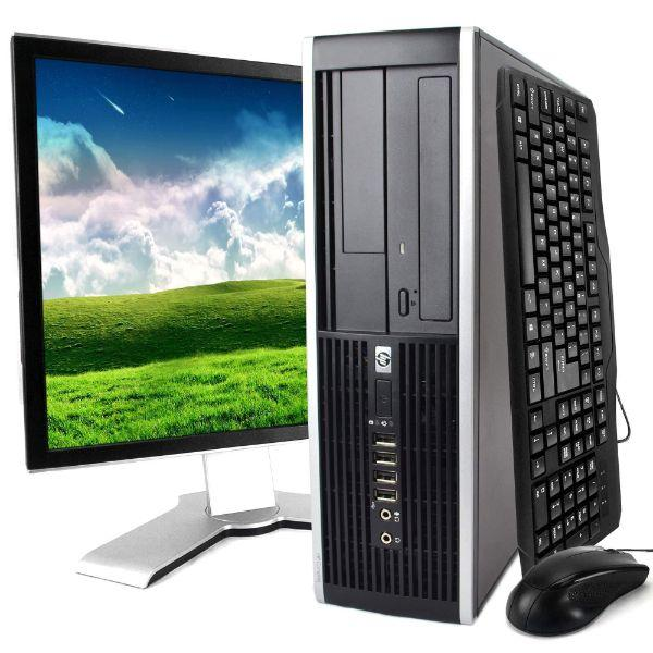 "Daily Steals-HP 8100 Desktop i5 Dual Core 3.2GHz 8GB RAM,500GB HDD DVD WIFI HDMI Keyboard Mouse Bluetooth 19"" LCD Win 10 Pro Bundle-Desktops-"