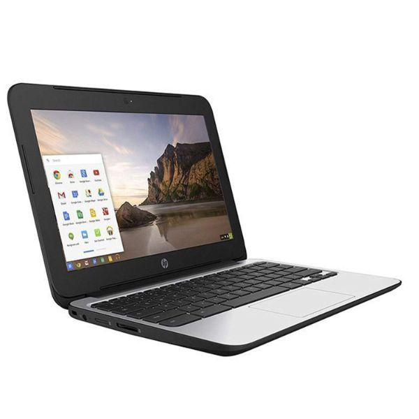 Daily Steals-HP Chromebook 11 G3 11.6-inch Intel Celeron N2840 2GB 16GB SSD Storage Google Chrome OS Notebook Laptop-Laptops-