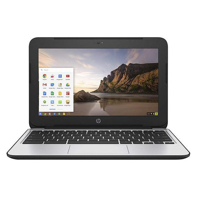 "HP Chromebook 14 G3, 14"" Laptop, QC-CD570M 2.1/4GB/16GB SSD, Refurbished-Daily Steals"