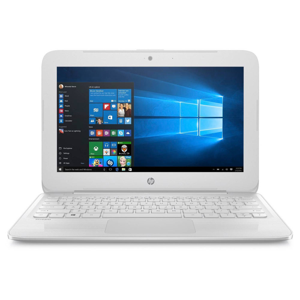 Daily Steals-HP Stream Laptop with 11.6-Inch Display, Intel Dual Core, 4GB RAM, 32GB SSD Storage, AC Wi-Fi and Windows 10-Laptops-