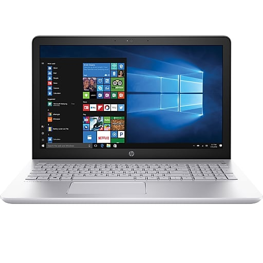 Laptop HP Pavilion de 15.6 pulgadas - Intel Core i7 de 7.a generación, SATA HD de 1TB, DDR4 de 12GB, Win 10, Intel HD Graphics 620-Steals diarios