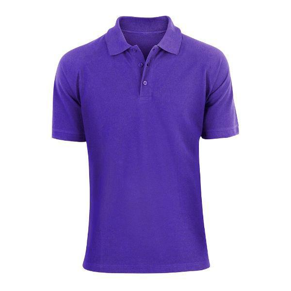 Men's Fashion Classic Fit Cotton Polo Shirt - Multiple Colors-Royal Blue-L-Daily Steals