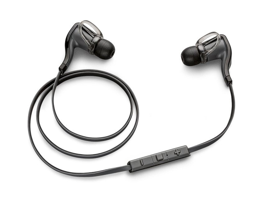 Daily Steals-Plantronics BackBeat Go 2 Bluetooth Hi-Fi Headphones with Inline Controls-Headphones-Black-