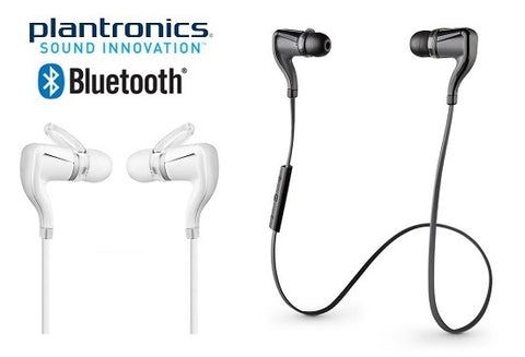 Daily Steals-Plantronics BackBeat Go 2 Bluetooth Hi-Fi Headphones with Inline Controls-Headphones-Black with Charging Case-