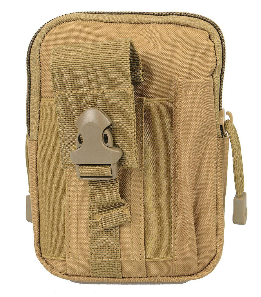Rootless Outdoor Tactical MOLLE Phone Bag-Khaki-Daily Steals