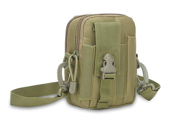 Rootless Outdoor Tactical MOLLE Phone Bag-Green-Daily Steals
