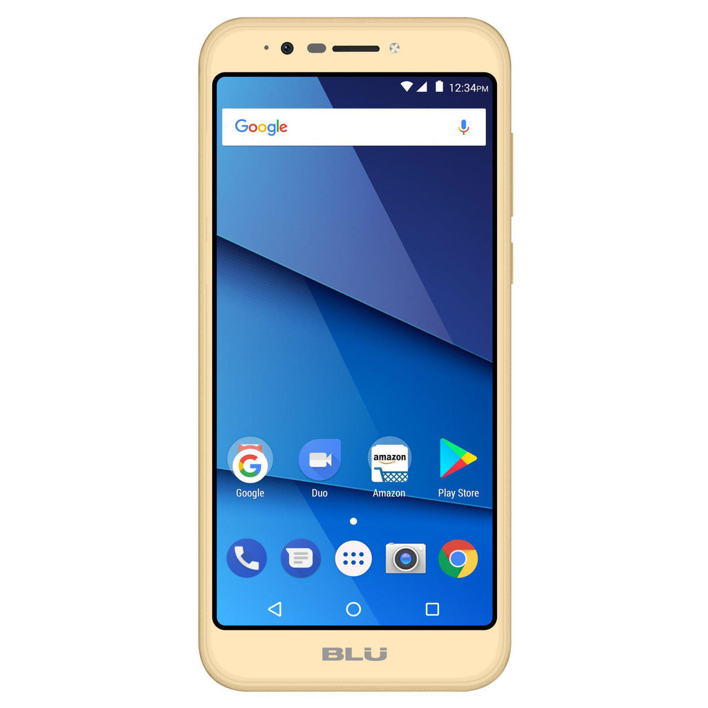 Daily Steals-BLU Studio View XL S790Q 16GB Unlocked GSM Dual-SIM Android Phone w/ 13MP Camera-Cellphones-Gold-
