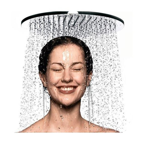 update alt-text with template Daily Steals-8-Inch High Flow Spa Shower Head with Rainfall and Waterfall Settings-Home and Office Essentials-